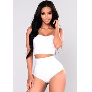 Dance Until Dawn Bikini - White